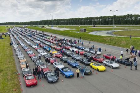 Mazda MAX-5 2013 Weltrekord