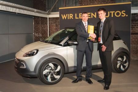 Opel Plus X Award 2013