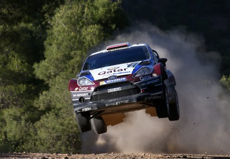 2013 Acropolis Rally Ford Fiesta RS WRC Ilka Minor Evgeny Novikov