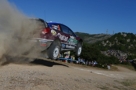Evgeny Novikov Ilka Minor Sprung Jump Ford Fiesta WRC