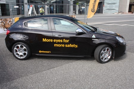 Continental Chassis & Safety Notbremsassistent System
