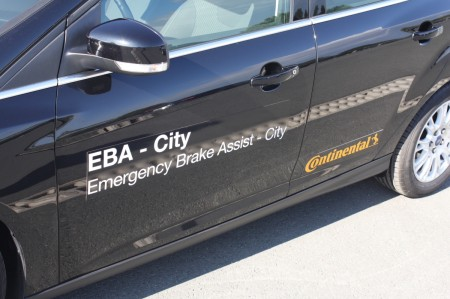 Continental Chassis & Safety EBA City Emergency Brake Assist