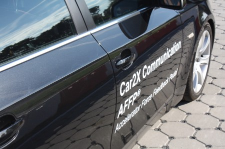 Continental Chassis & Safety Car-to-X Kommunikation BMW AFFP