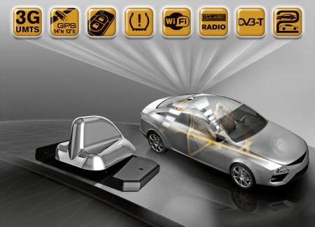 Continental IntelligenteAntenne Car2X Kommunikation