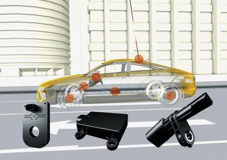 Continental M2XPro Fahrdynamiksensoren Car to X Kommunikation