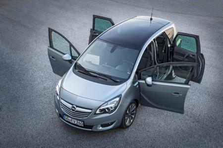 Opel Meriva offene Türen
