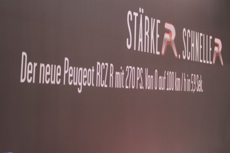 Vienna Autoshow 2014 Peugeot RCZ-R