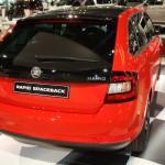 Vienna Autoshow 2014 Skoda Rapid Spaceback