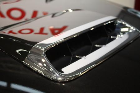 Vienna Autoshow 2014 Toyota HiLux Lufthutze