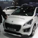 Vienna Autoshow 2014 Peugeot 3008
