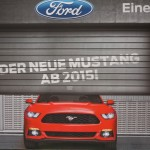 Vienna Autoshow 2014 Ford Mustang Neu 2015