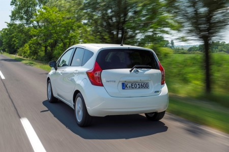 Nissan Note Heck