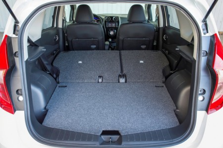 Nissan Note Kofferraum