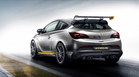 Opel Astra OPC Extreme Heck