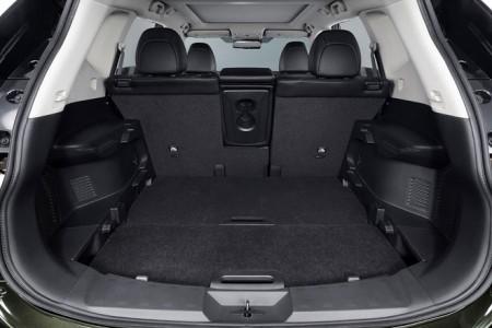Nissan X-Trail Kofferraum Sitze