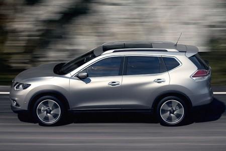 Nissan X-Trail Seitenansicht