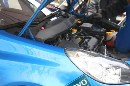 Opel Corsa OPC Motor Reparatur