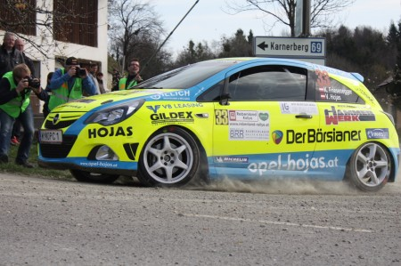 Rebenland Rallye 2014 Opel Corsa OPC Konrad Friesenegger SP 6