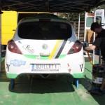 Rebenland Rallye 2014 Opel Corsa OPC Service