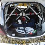 Rebenland Rallye 2014 Opel Corsa OPC Kofferraum Innenraum Service