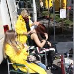 Rebenland Rallye 2014 Opel Corsa OPC Damen Massage Service