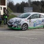 Rebenland Rallye 2014 Opel Corsa OPC Daniel Wollinger SP 6