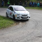 Lavanttal Rallye 2014 Opel Corsa OPC Rallye Cup Gerhard Aigner SP5