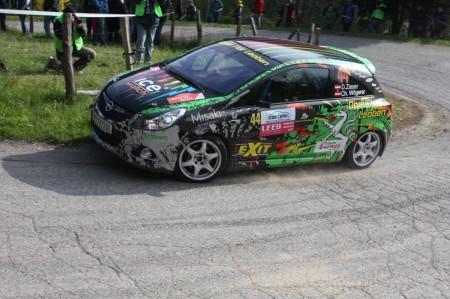 Lavanttal Rallye 2014 Opel Corsa OPC Rallye Cup Daniel Zieser SP5