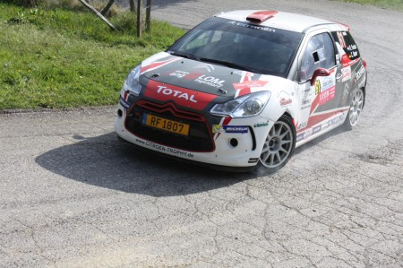Lavanttal Rallye 2014 Citroen Racing Trophy Citroen DS3 Ronny Foxius SP5