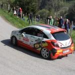 Lavanttal Rallye 2014 Opel Corsa OPC Rallye Cup Gerhard Dworak SP 5