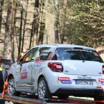 Lavanttal Rallye 2014 Citroen Racing Trophy Citroen Cup DS3 Michael Wolters Unfall Crash Schaden SP 8