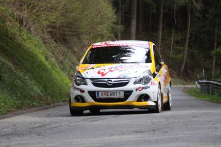 Lavanttal Rallye 2014 Opel Corsa OPC Cup