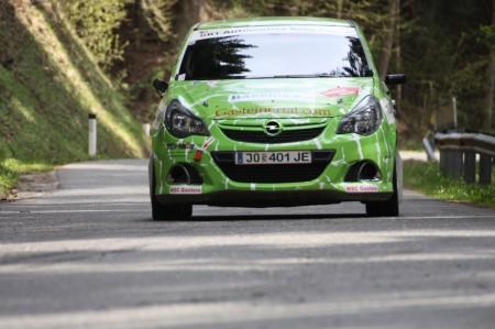 Lavanttal Rallye 2014 Opel Corsa OPC Rallye Cup Rene Rieder SP8