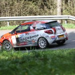 Lavanttal Rallye 2014 Citroen Racing Trophy Citroen Cup DS3 Romain Delva SP 8