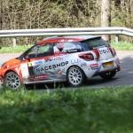 Lavanttal Rallye 2014 Citroen Racing Trophy Citroen Cup DS3 Romain Delva SP 8