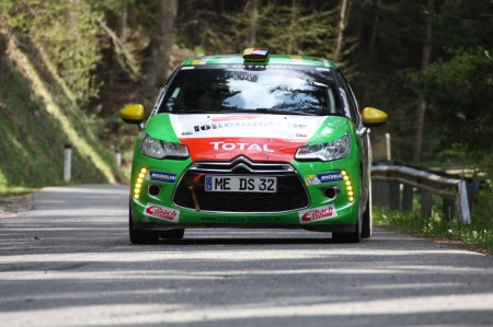 Lavanttal Rallye 2014 Citroen Racing Trophy DS3 R1 Citroen Cup Philipp Knof SP 8
