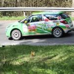 Lavanttal Rallye 2014 Citroen Racing Trophy DS3 R1 Citroen Cup Philipp Knof SP 8
