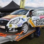 Lavanttal Rallye 2014 Opel Corsa OPC Rallye Cup Service