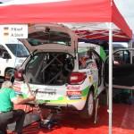 Lavanttal Rallye 2014 Citroen Racing Trophy Citroen DS3 Service Knof Stein