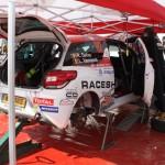 Lavanttal Rallye 2014 Citroen Racing Trophy Citroen DS3 Service Delva Vanneste