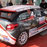 Lavanttal Rallye 2014 Citroen Racing Trophy Citroen DS3 Service Foxius Baehr