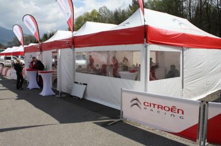 Lavanttal Rallye 2014 Citroen Racing Trophy Cup Service