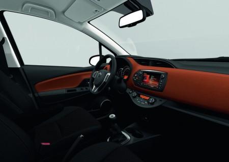 Toyota Yaris Facelift Innenraum