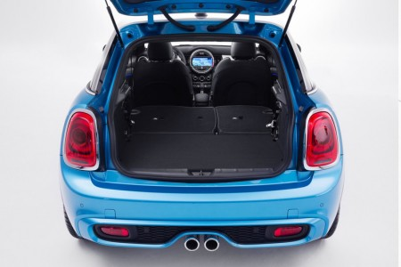 Mini Cooper Fünftürer Kofferraum
