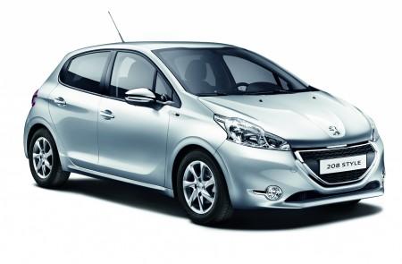 Peugeot 208_Style_aluminium_Grau