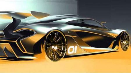 Hybridantrieb des McLaren P1 GTR