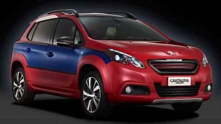 Peugeot 2008 Castagna unverkäufliches Einzelstück