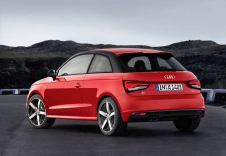 Audi A1 Heck
