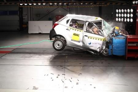 Datsun Go Crashtest Ergebnis