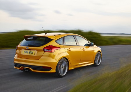 Ford Focus ST Heck